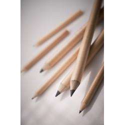 Ołówek grafitowy okrągły dł. 87 mm temperowany