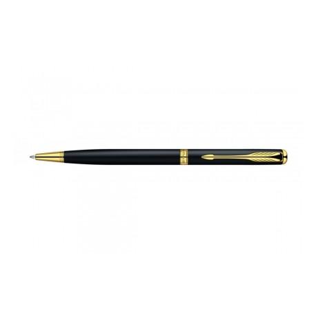 Długopis Parker Sonnet  Slim Mat Black GT